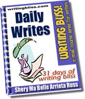 Daily Writes: 31 Days of Writing Bliss!